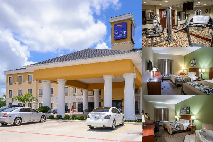 Sleep Inn & Suites Pearland photo collage