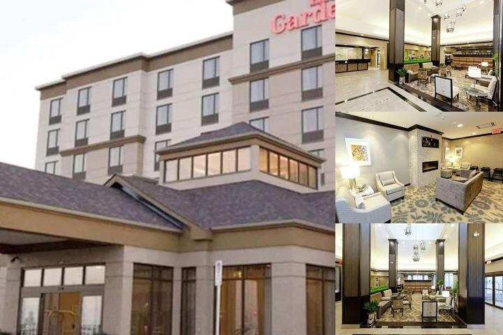 Hilton Garden Inn Toronto Brampton photo collage