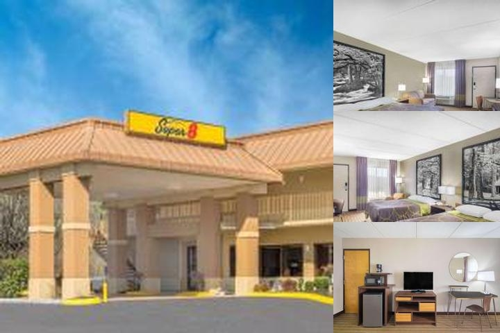 Super 8 Motel North Knoxville photo collage
