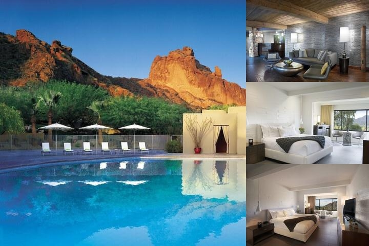 Sanctuary Camelback Mountain Resort & Spa photo collage