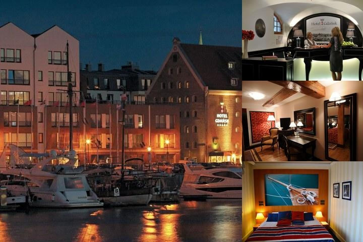 Hotel Gdansk Superior photo collage