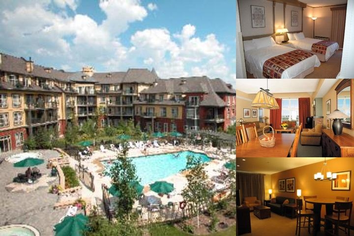Blue Mountain Resort photo collage