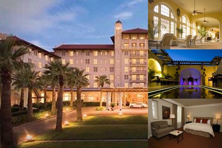 Hotel Galvez / Tremont House / Harbor House photo collage
