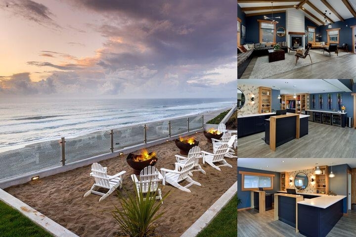 The Coho Oceanfront Lodge photo collage