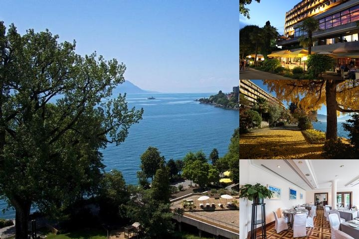 Royal Plaza Montreux & Spa photo collage