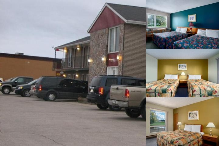 Knights Inn Kincardine photo collage