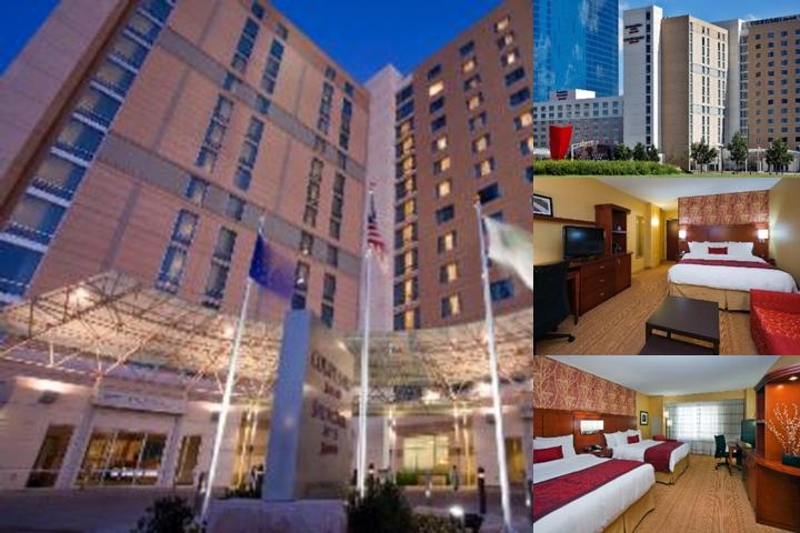 Courtyard by Marriott Indianapolis Downtown photo collage