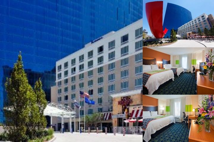 Fairfield Inn & Suites Downtown Indianapolis photo collage