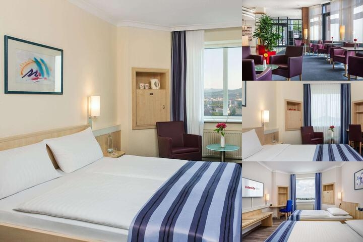 Intercityhotel Freiburg photo collage