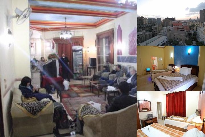 Cairo City Center Hotel photo collage