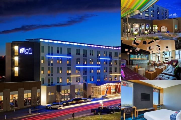 Aloft Broomfield Denver Hotel photo collage