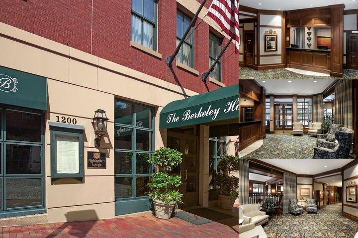 The Berkeley Hotel photo collage