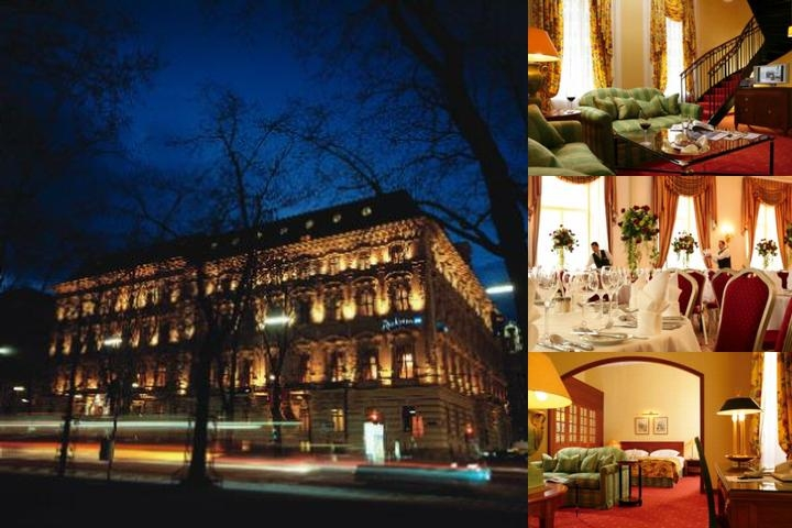 Radisson Blu Palais Hotel Vienna photo collage