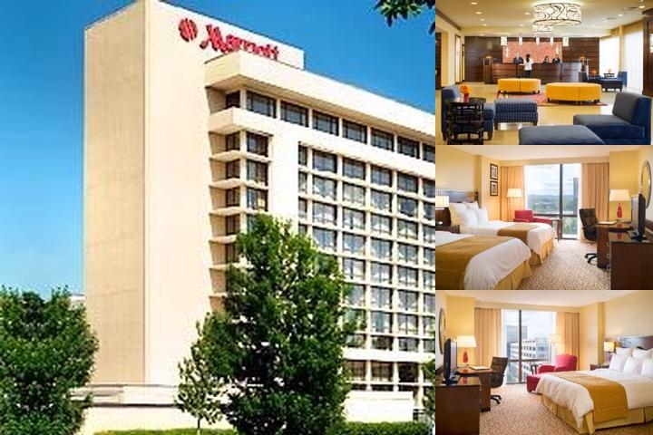 Saddle Brook Marriott photo collage