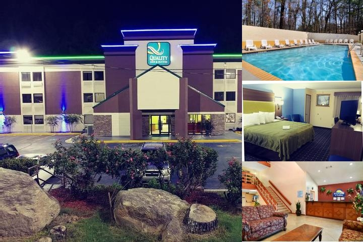 Days Inn & Suites Six Flags photo collage