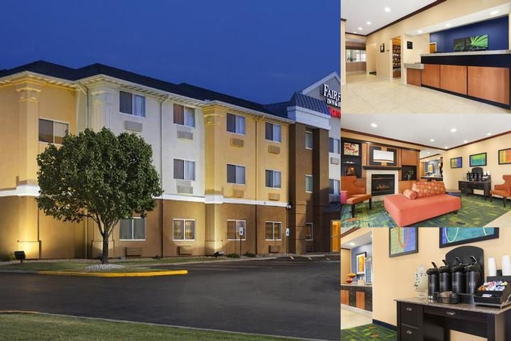 The Fairfield Inn & Suites Oklahoma City Quail photo collage