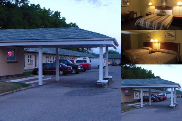 Faulds Motel photo collage