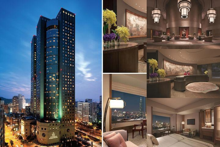 Shangri La's Far Eastern Plaza Hotel Taipei photo collage