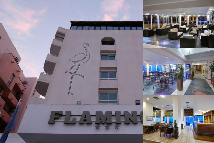 Flamingo Beach Hotel photo collage