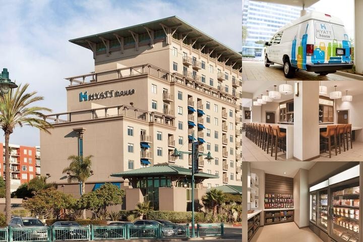 Hyatt House Emeryville photo collage