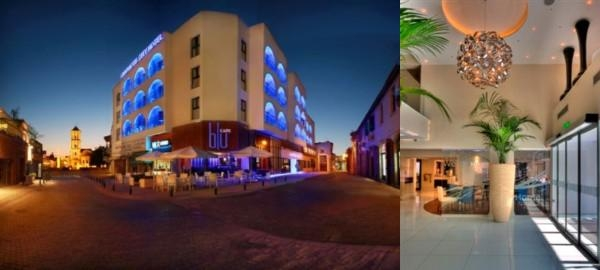 Livadhiotis City Hotel photo collage