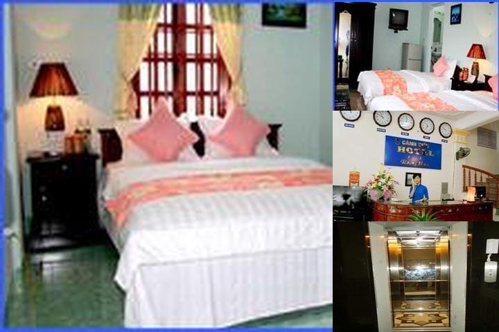 Canh Dieu Hotel photo collage