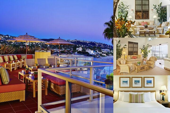 The Inn at Laguna Beach photo collage