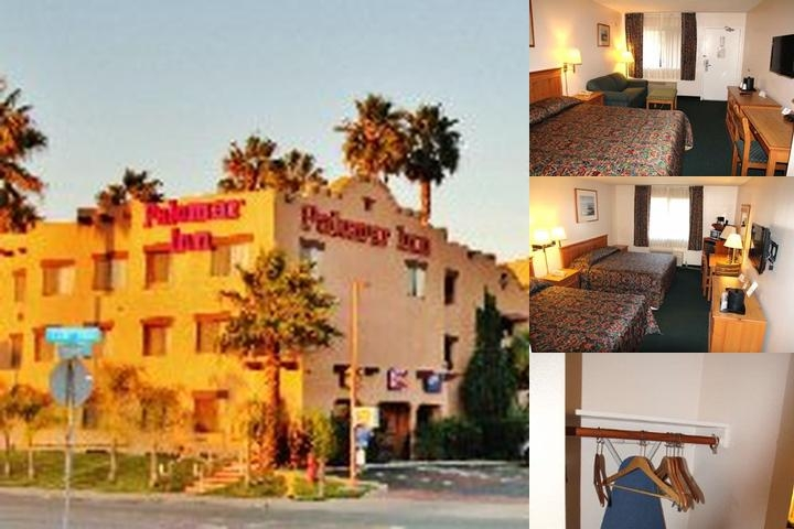 Palomar Inn photo collage
