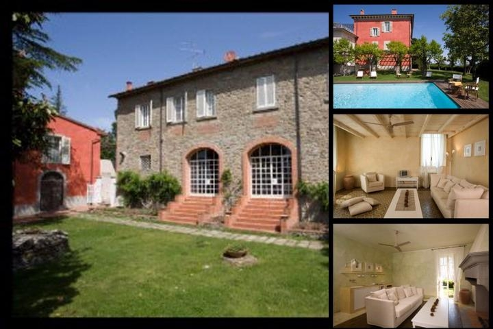 Villa Cassia Di Baccano Country Residence photo collage