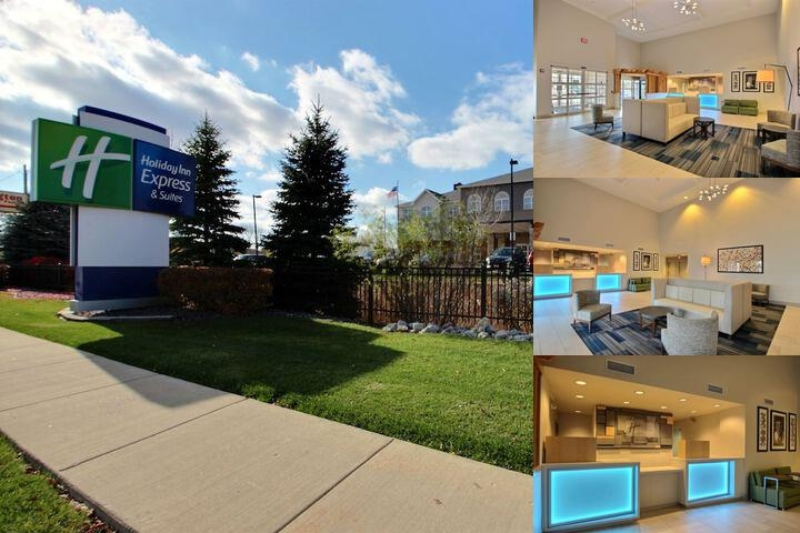 Holiday Inn Express Hotel & Suites Milwaukee Airport, an IHG Hote photo collage