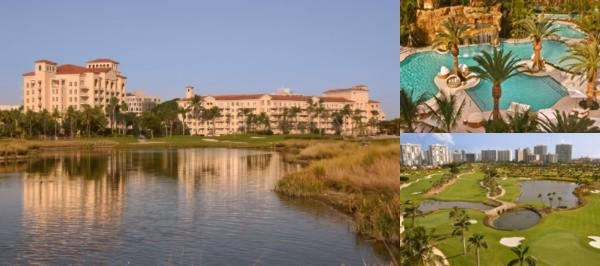 Turnberry Isle Miami Resort photo collage