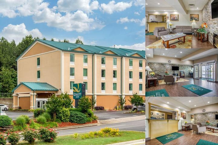 Quality Inn Atlanta Airport Hotel photo collage