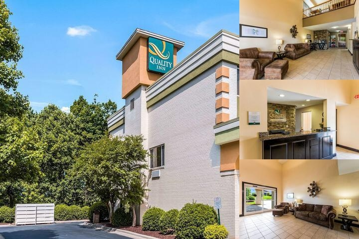 Quality Inn Huntersville Lake Norman photo collage