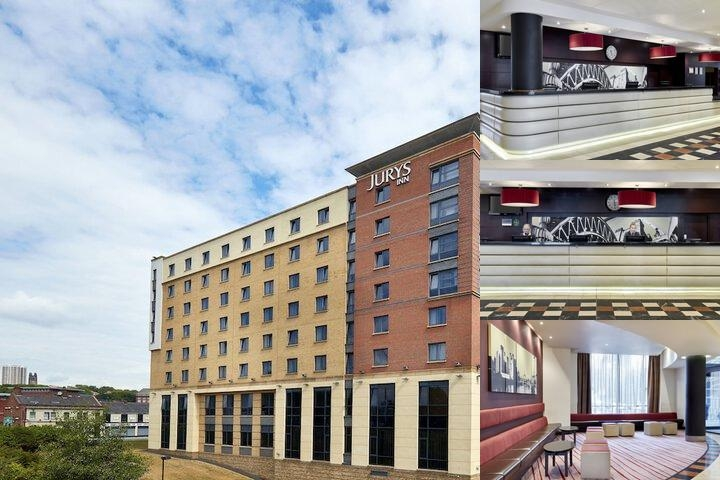Jurys Inn Newcastle photo collage