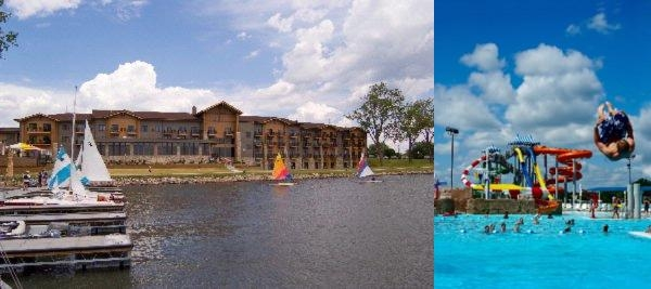 King's Pointe Waterpark Resort photo collage