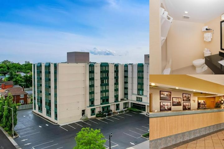 Super 8 Hotel & Suites Niagara Falls Ontario photo collage