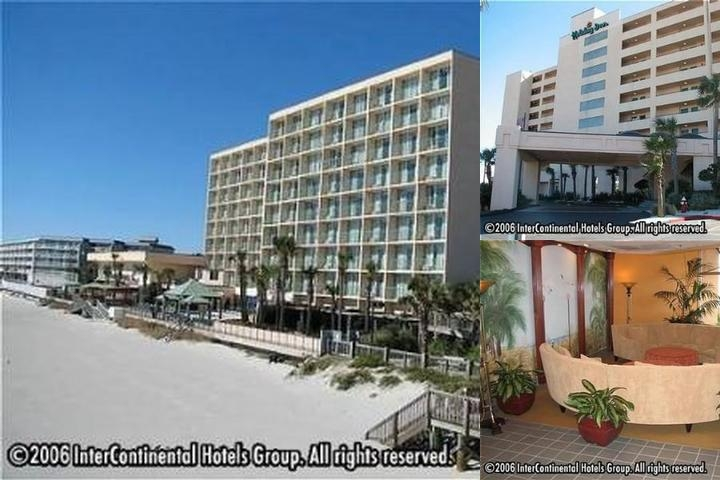 Folly Beach Holiday Inn Oceanfront photo collage