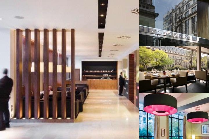 Apex City of London Hotel photo collage