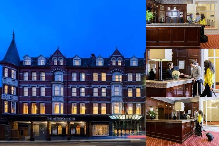 The Metropole Hotel photo collage