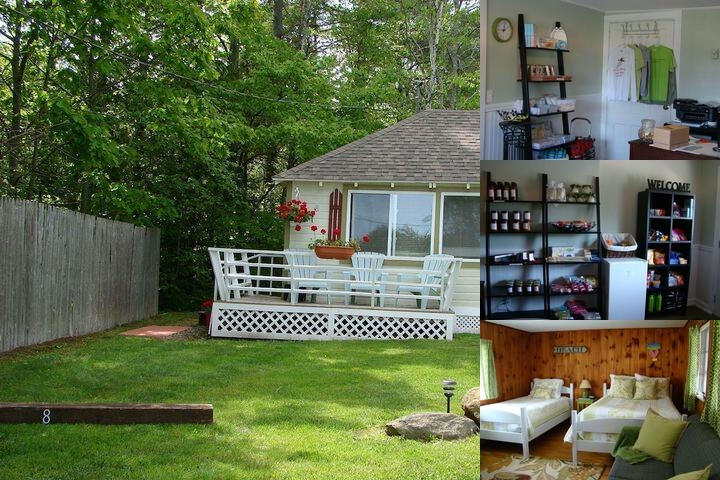 Bay Leaf Cottages & Bistro photo collage