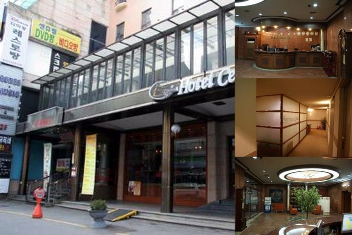 Suwon Central Hotel photo collage