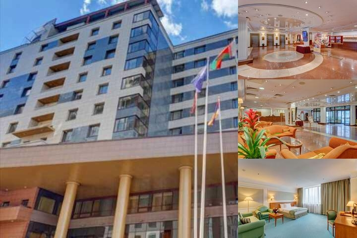 Borodino Hotel photo collage