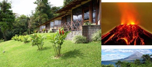 Arenal Vista Lodge photo collage