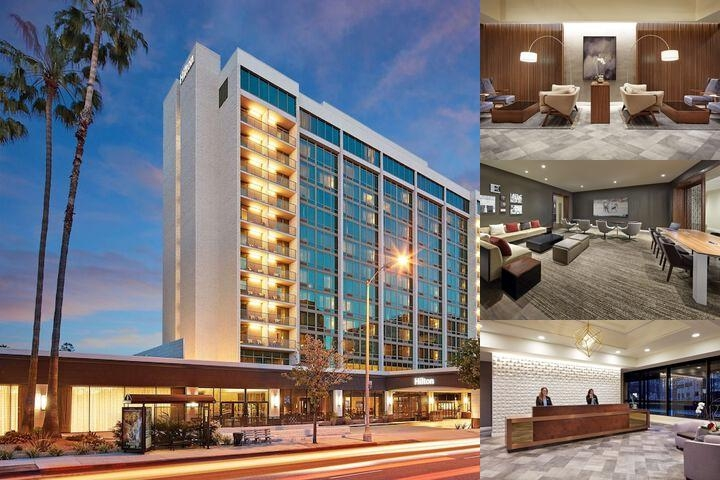 Hilton Pasadena photo collage