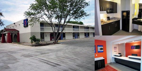 Motel 6 Uvalde photo collage
