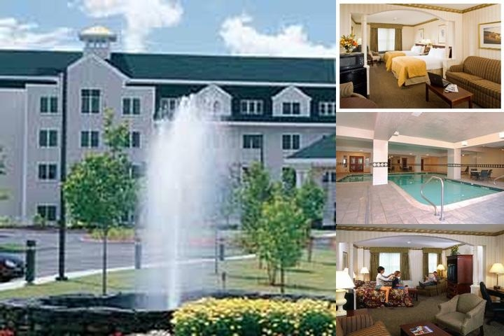 Comfort Inn & Suites St. Johnsbury photo collage
