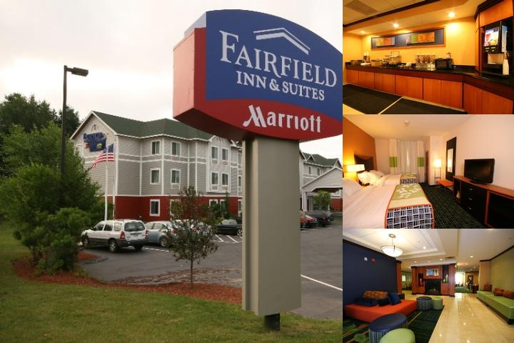 Fairfield Inn & Suites White River Junction photo collage