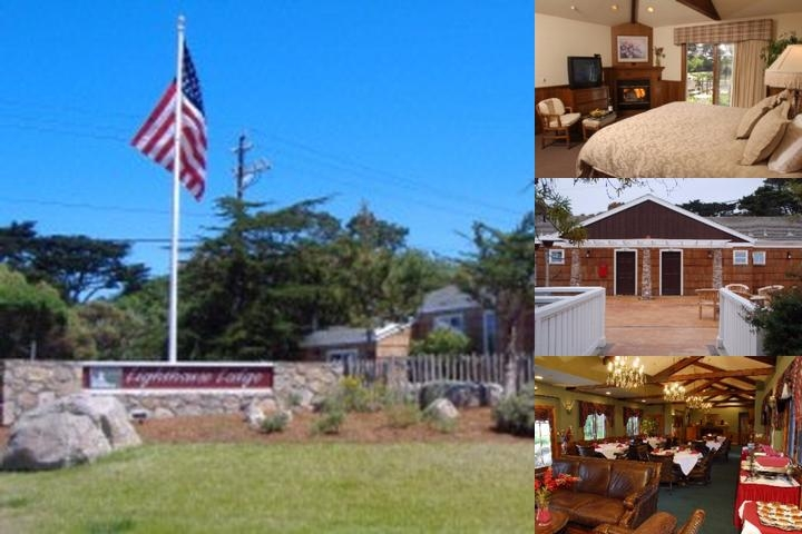 Lighthouse Lodge & Cottages photo collage