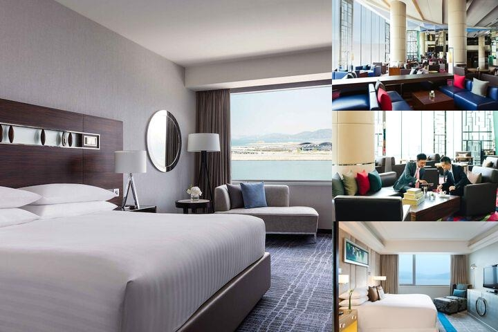 Hong Kong Skycity Marriott Hotel photo collage