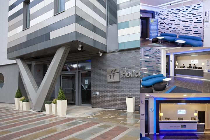 Holiday Inn Express Manchester Men Arena photo collage